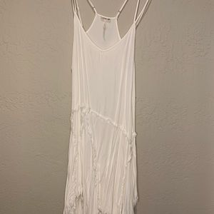 Intimately Free People flowy white strappy top